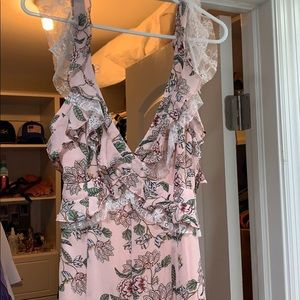 For love and lemons maxi floral dress